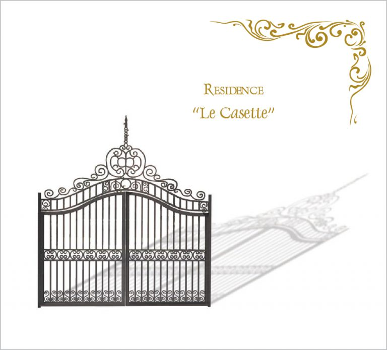 grafica casette residence rendering brochure SIAD