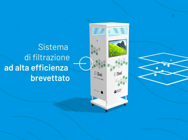 video eisei nippon gases purificazione sanificazione aria indoor made in italy