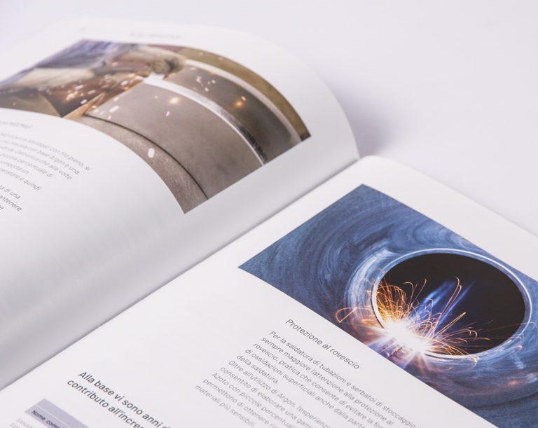 grafica catalogo nippon gases brand identity manual metalfabrication