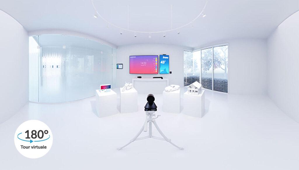Tour virtuale Camax Connect